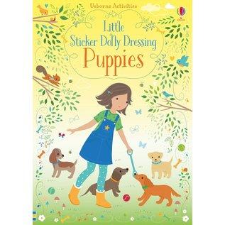 Usborne Usborne Little Sticker Dolly Dressing Puppies