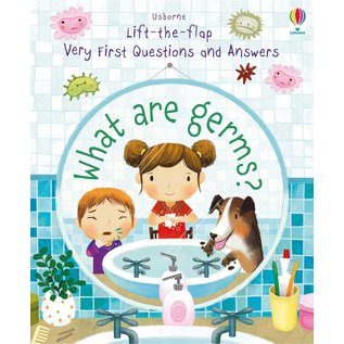 Usborne Usborne Lift-the-Flap Very First Q & A: What Are Germs?