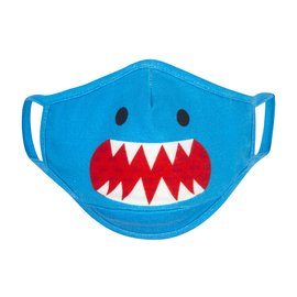 ZOOCCHiNi ZOOCCHiNi Organic Reusable Face Masks for Kids 3+ yr Multi 3 pc Set Shark