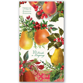 Michel Design Works Michel Design Works Hostess Napkin In A Pear Tree