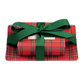 Michel Design Works Michel Design Works Gift Soap Set Tartan
