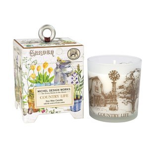 Michel Design Works Michel Design Works Soy Wax Candle 6.5 oz Country Life