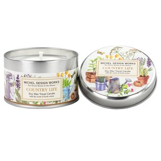 Michel Design Works Michel Design Works Travel Candle Country Life