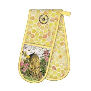 Michel Design Works Michel Design Works Double Oven Glove Honey & Clover