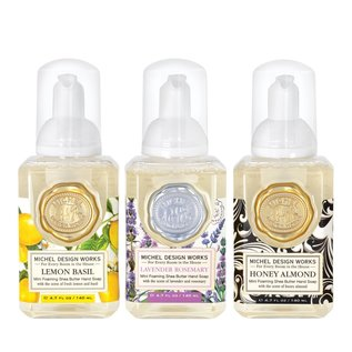Michel Design Works Michel Design Works 3 pc Mini Foaming Hand Soap Set #1