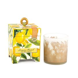 Michel Design Works Michel Design Works Soy Wax Candle 6.5 oz Lemon Basil