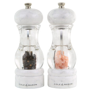 Cole & Mason Cole & Mason 105 Marble Salt & Pepper Mill Gift Set with Refills