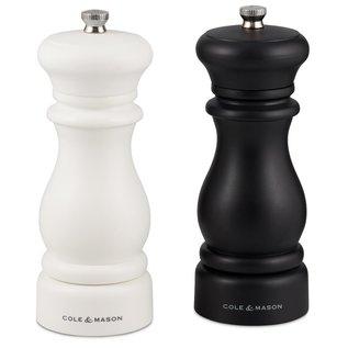 Cole & Mason Cole & Mason Southwold Classic Salt & Pepper Mill Gift Set Black & White