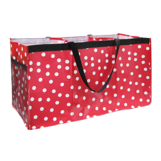 Two Lumps of Sugar Trunkster Polka Dot Red & White