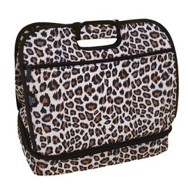 Two Lumps of Sugar Potluck Tote Cheetah