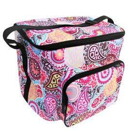 Two Lumps of Sugar Potluck Tote Paisley Medallion