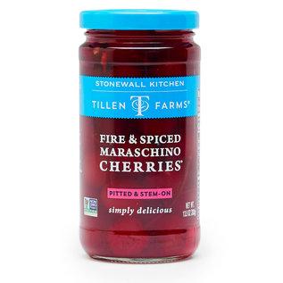 Tillen Farms Stonewall Kitchen Tillen Farms Fire & Spiced Maraschino Cherries