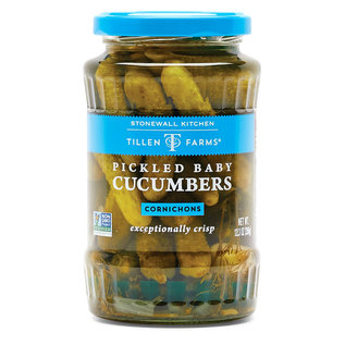 Tillen Farms Stonewall Kitchen Tillen Farms Pickled Baby Cucumbers