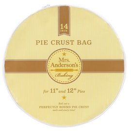 Harold Import Company Inc. HIC Mrs. Anderson's Pie Crust Bag for 11-12 inch Pies