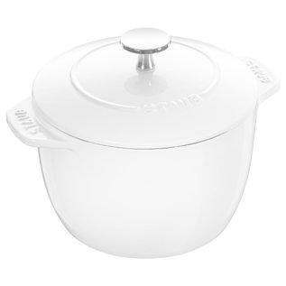 Staub Staub Petite French Oven 1.5 Qt White