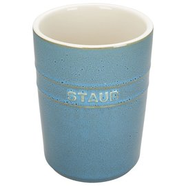 Staub Staub Ceramic Utensil Holder Rustic Turquoise