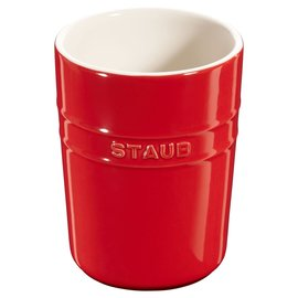 Staub Staub Ceramic Utensil Holder Cherry