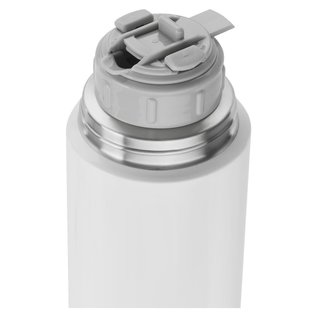 Zwilling J.A. Henckels Zwilling Thermo Beverage Bottle stainless steel 33.8 oz Silver/White