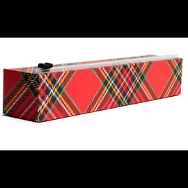 Chic Wrap Chic Wrap Plastic Wrap Dispenser Holiday Tartan
