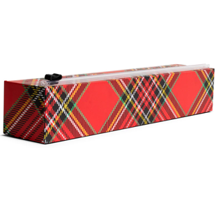 Chic Wrap Chic Wrap Plastic Wrap Dispenser Holiday Tartan