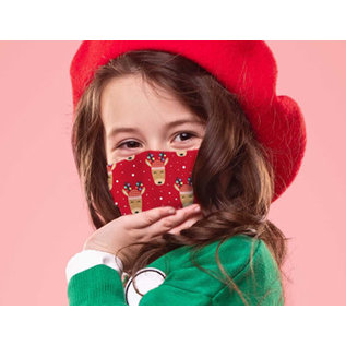 DM Merchandising Inc DM Merchandising Care Cover Protective Face Mask Kid's Assorted Holiday