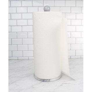RSVP RSVP Natural White Marble Paper Towel Holder