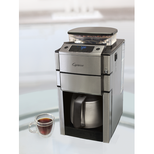 Jura Capresso Jura Capresso CoffeeTEAM PRO Plus Coffee Maker 10 Cup w/ Stainless Steel Thermal Carafe & Conical Burr Grinder
