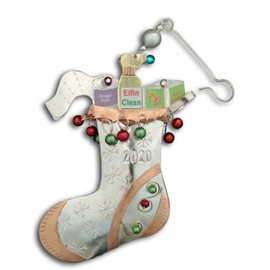 Pilgrim Imports Pilgrim Imports 2020 Limited Edition Ornament Pandemic Stocking CLOSEOUT/NO RETURNS