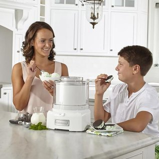 Cuisinart Cuisinart Automatic Frozen Yogurt, Ice Cream and Sorbet Maker White ICE-21