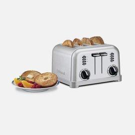 Cuisinart Cuisinart 4 Slice Metal Classic Toaster CPT-180P1