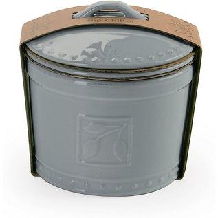 Signature Housewares Sorrento 3pc Dip Chiller Light Gray