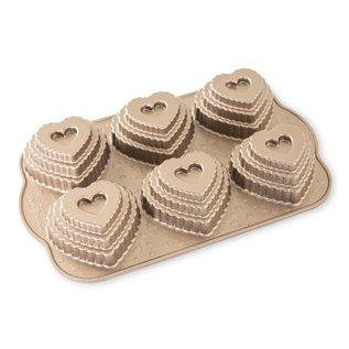Nordic Ware Nordic Ware Tiered Heart Cakelet Pan