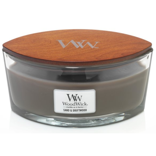WoodWick Candle WoodWick Candle Ellipse Hearthwick Sand & Driftwood