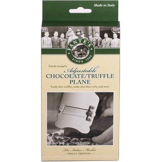 Harold Import Company Inc. HIC Adjustable Chocolate & Truffle Plane Stainless Steel
