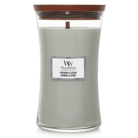 WoodWick Candle WoodWick Candle Large Lavender & Cedar