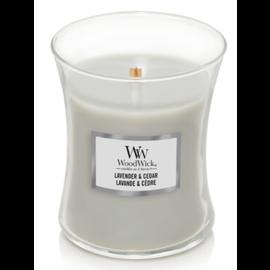 WoodWick Candle WoodWick Candle Medium Lavender & Cedar