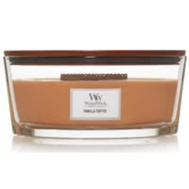 WoodWick Candle WoodWick Candle Ellipse Hearthwick Vanilla Toffee