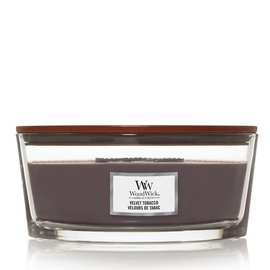 WoodWick Candle WoodWick Candle Ellipse Hearthwick Velvet Tobacco