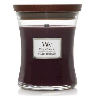 WoodWick Candle WoodWick Candle Medium Velvet Tobacco