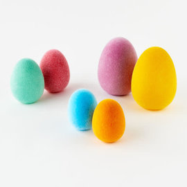 One Hundred 80 Degrees One Hundred 80 Degrees Flocked Egg Assorted Sold Individually