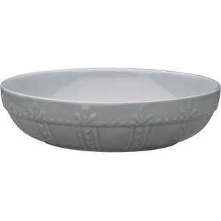 Signature Housewares Sorrento Pasta Bowl Large Light Gray