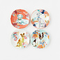 One Hundred 80 Degrees One Hundred 80 Degrees Nature Dog Porcelain Plate 8 inch Assorted Sold Individually