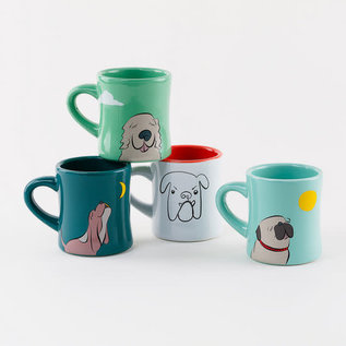 One Hundred 80 Degrees One Hundred 80 Degrees Dog Mug w Sentiments 10 oz Assorted Sold Individually