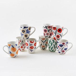 One Hundred 80 Degrees One Hundred 80 Degrees Spring Porcelain Mug Assorted Sold Individually