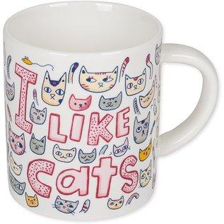 One Hundred 80 Degrees One Hundred 80 Degrees I Like Cats Mug