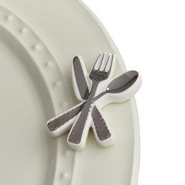 Nora Fleming Nora Fleming Mini Bon Appetit silverware