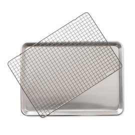 Nordic Ware Nordic Ware 2 pc Set Half Sheet with Oven Safe Grid