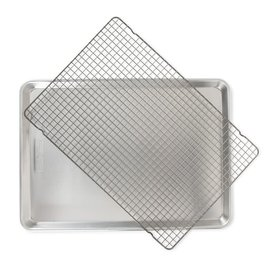 Nordic Ware Nordic Ware 2 pc Set Big Sheet with Oven Safe Grid