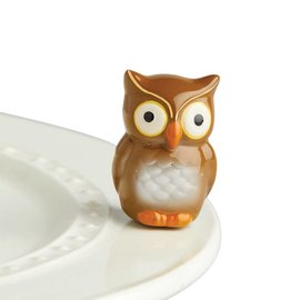 Nora Fleming Nora Fleming Mini Be Who You Are! owl