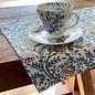 Mahogany USA Mahogany Vani Blue Placemats 13 in. x 19 in. set of 4